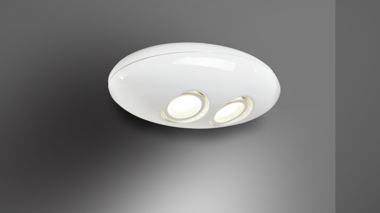 Applique murale led – E.T (Blanc)