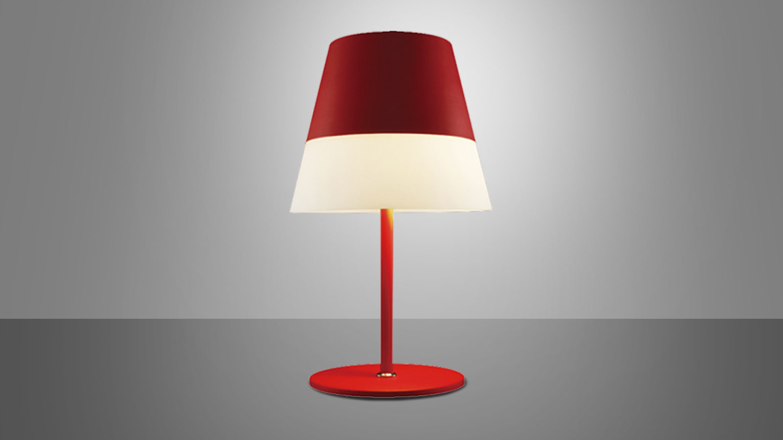 Table lamp – HAT (Red)