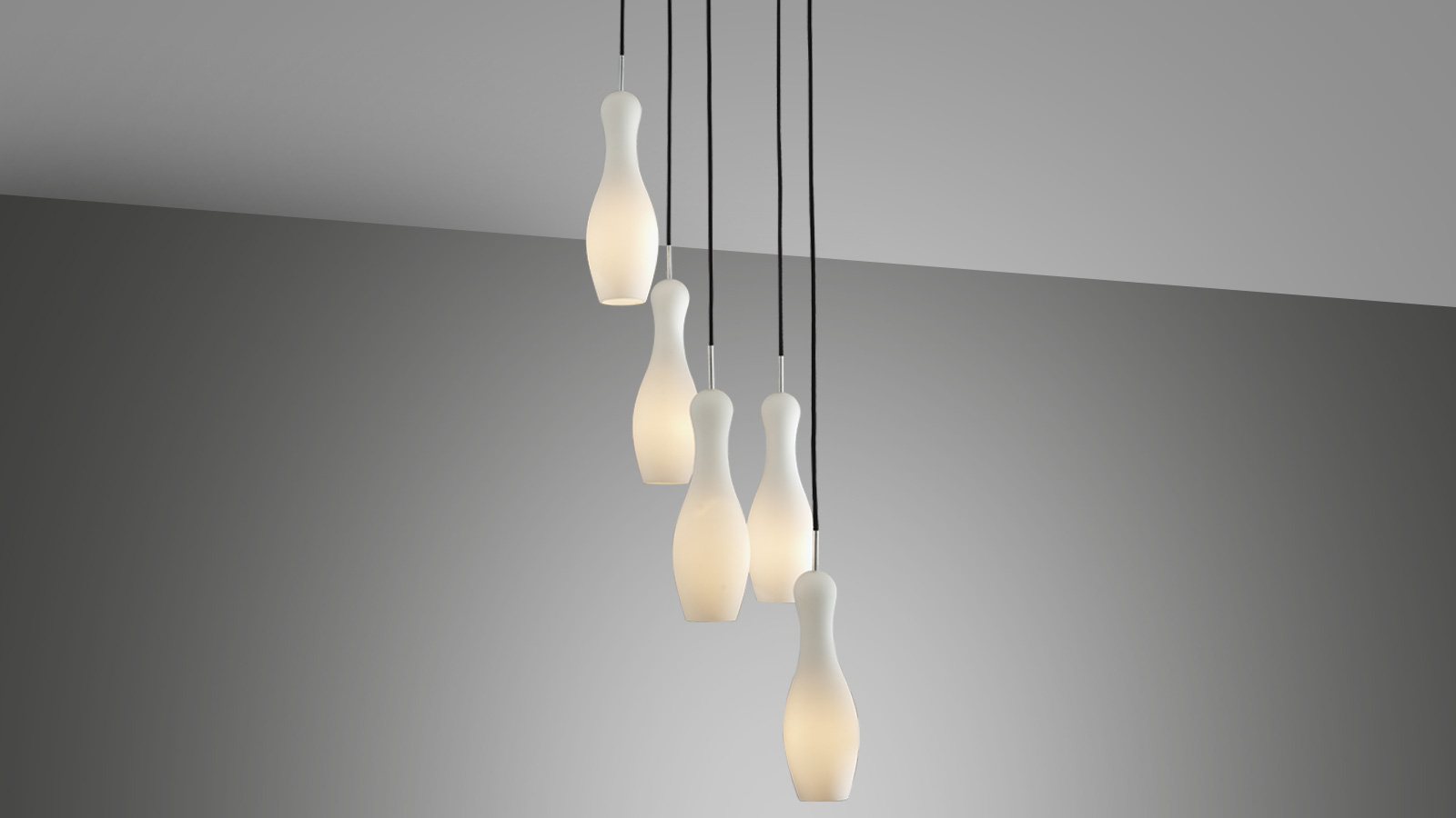 Pendant lamp – SKITTLE Mini (Opal)