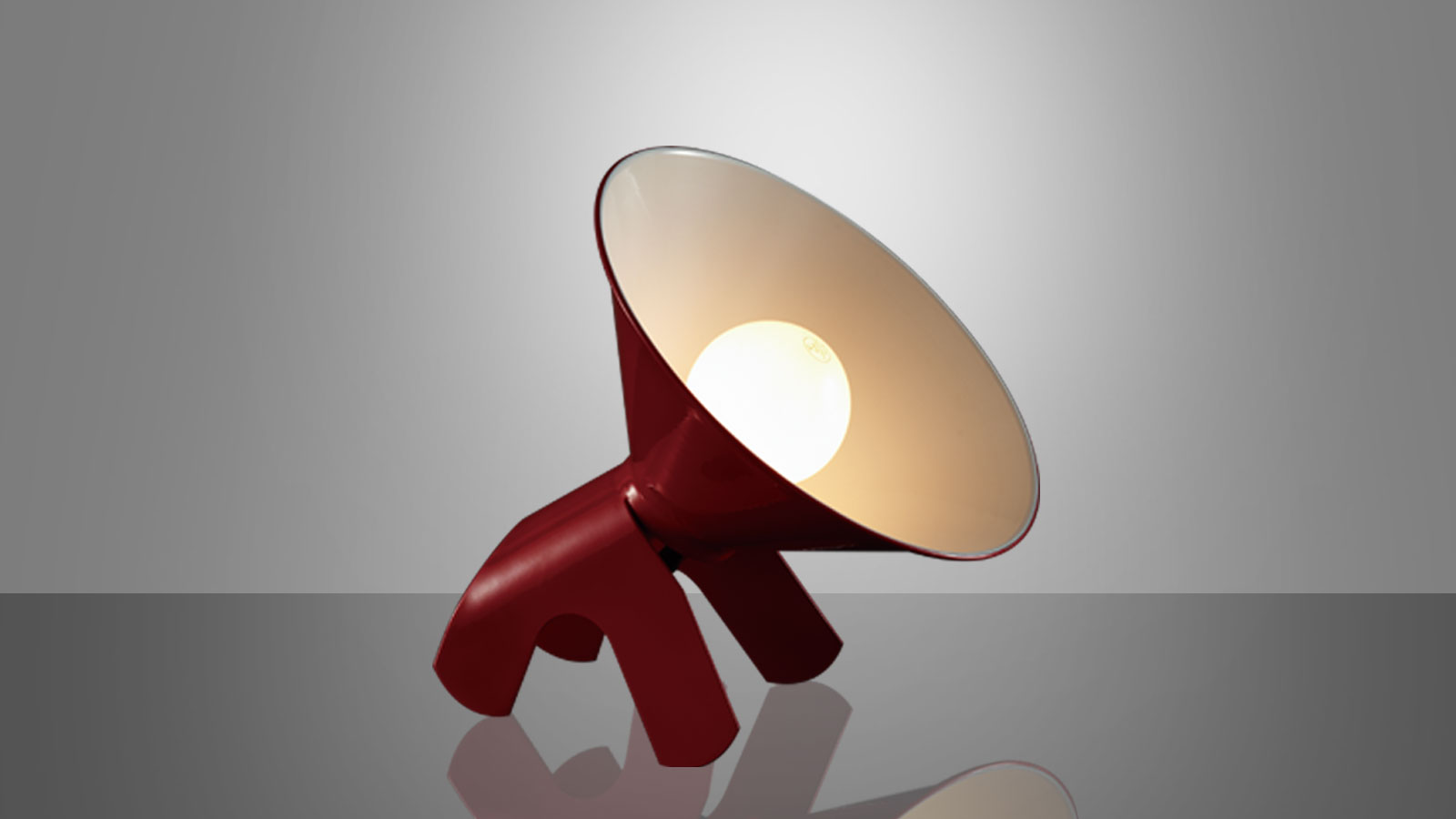 Table lamp – SNOOPY (Red)