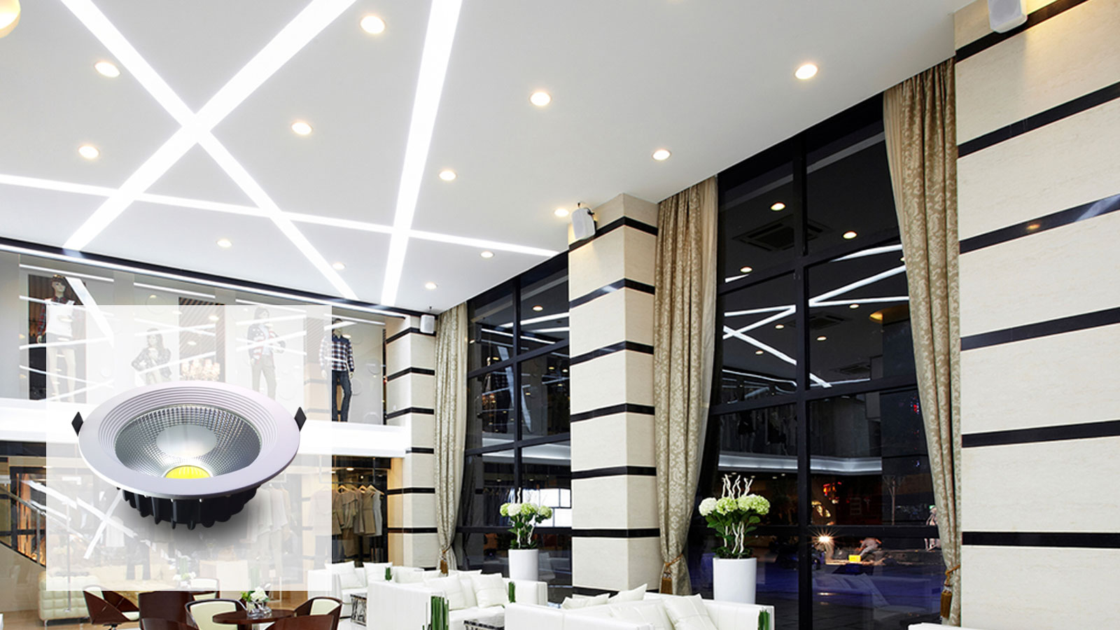Downlight LED – DOWNLED (30W)